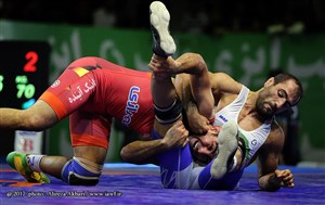 Photo 3  Iran FR   GR Wrestling League 2