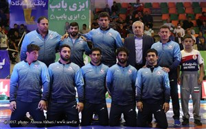 Photo 3  Iran FR   GR Wrestling League 13