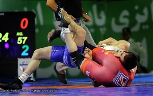 Photo 3  Iran FR   GR Wrestling League 15