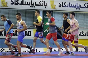 Photos  Iran Junior Greco-Roman Training Camp 22