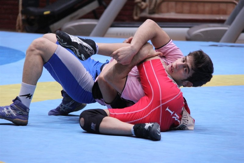 Photos/ Iran freestyle wrestling training for 2014 World Cup